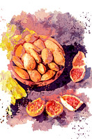 Almonds and figs